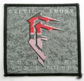 Celtic Frost - 'Cold Lake World Tour 89 Silver' Woven Patch